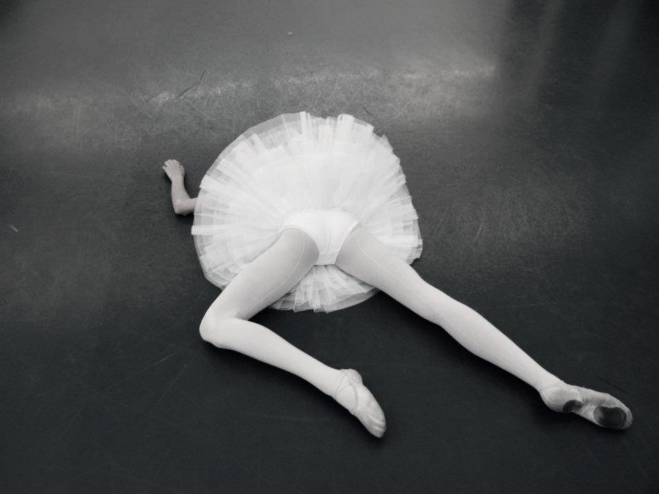 Девушки в балетной пачке