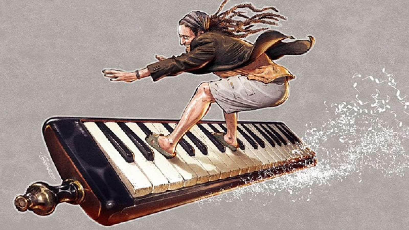 Смешные картинки про музыку и музыкантов, открыток